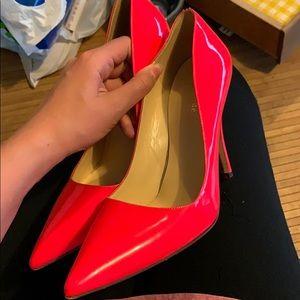 Kate spade hot pink heels